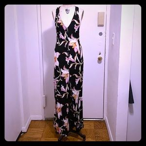 Flynn skye midnight lily maxi dress size 3